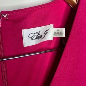 Eliza J Dresses - Eliza J Pink NWT A-line Short Sleeve Dress